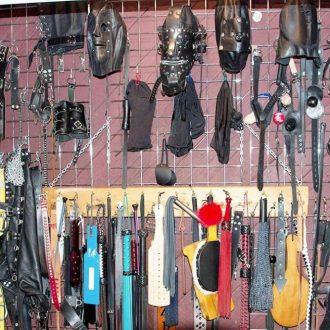 equipment wall